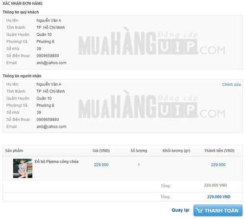 Hướng dẫn mua hàng trực tuyến