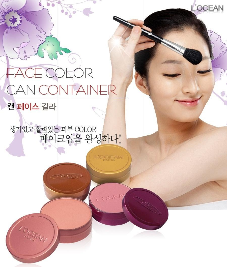 Phấn Má Hồng Thiếc Chuyên Nghiệp – Face Color Can Container