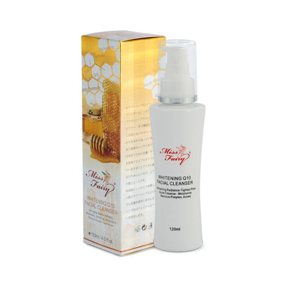 Gel rửa mặt Miss Fairy làm trắng da tinh chất Q10 - Miss Fairy Whitening Q10 Facial Cleanser
