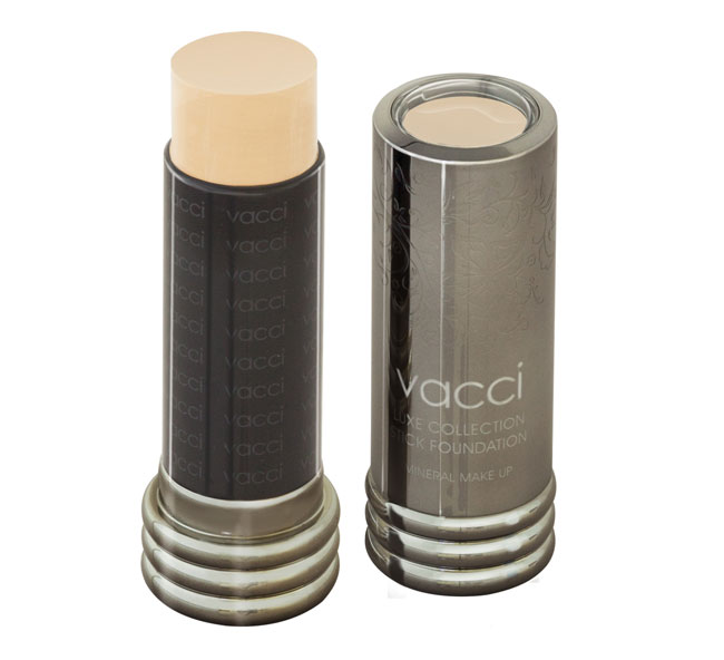 Kem phấn che khuyết điểm của Vacci - LUXE COLLECTION STICK FOUNDATION