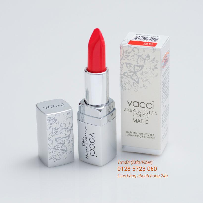 Son Vacci Matte lipstick dưỡng môi lâu phai