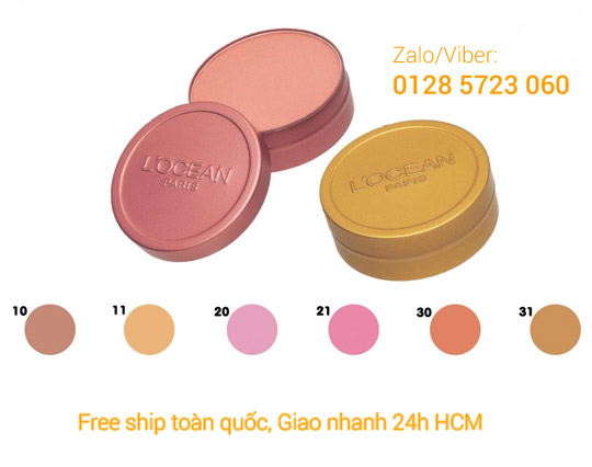 Phấn Má Hồng Thiếc Chuyên Nghiệp - Face Color Can Container