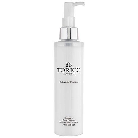 Sữa rửa mặt kết hợp tẩy trang làm trắng da Torico Rich White Cleansing