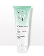 Gel cát tẩy tế bào chết Vichy Normaderm ngăn ngừa mụn