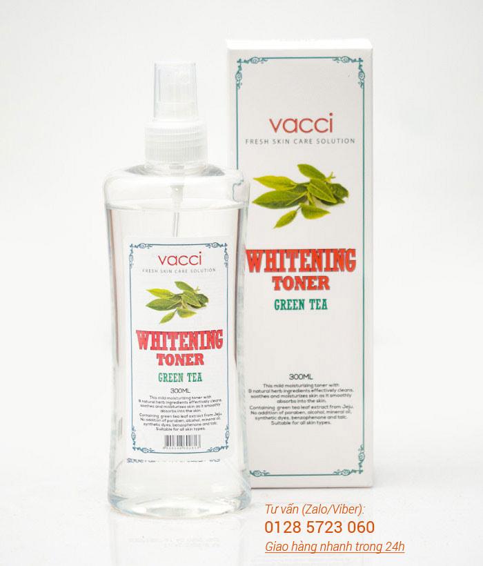 Nước hoa hồng trắng da Vacci - Vacci Whitening Toner