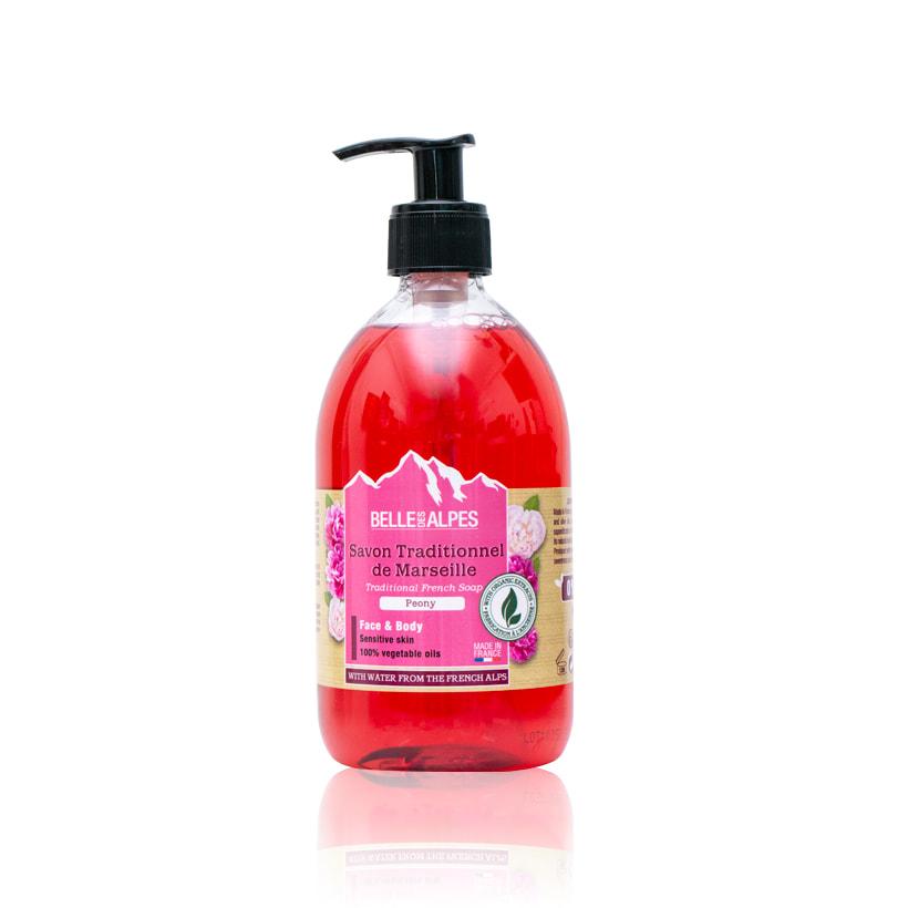 Tinh dầu rửa mặt và tắm thơm hương hoa mẫu đơn Peony