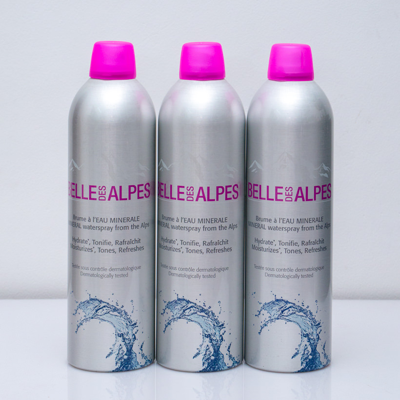 xit khoang bell des alpes mineral waterspray from the alpes